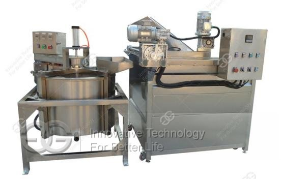 Automatic Frying Machine with Deoiling