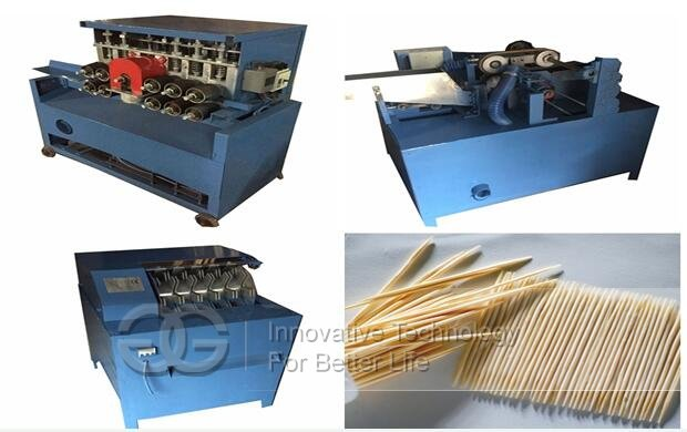 wooden toothpick processing