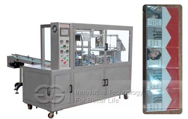 Automatic BOPP Film Cello Wrapping Machine for 10 Boxes Cigarette