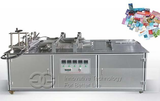 Semi Auto Cellophane Overwrapping machine for Tea Box