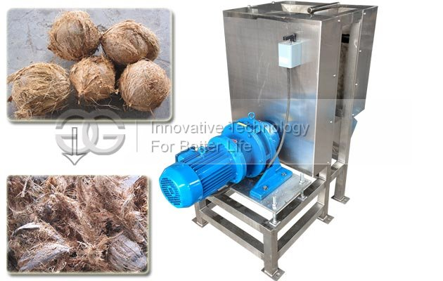 Coconut Peeler Machine