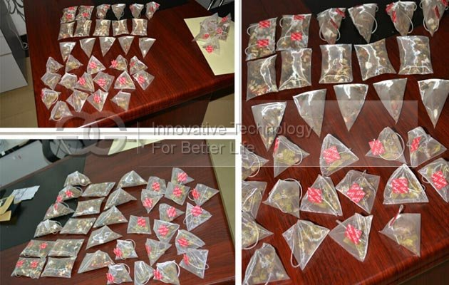 Packing Machine for Pyramid Tea Bag