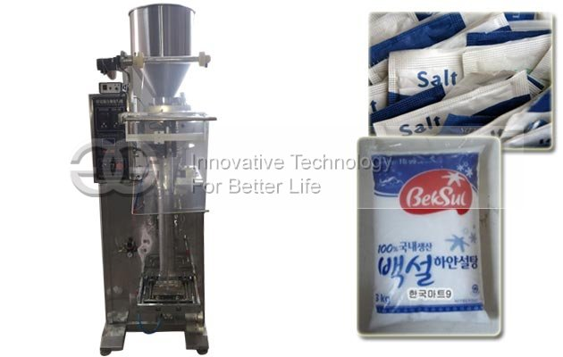 Salt Pouch Packing Machine