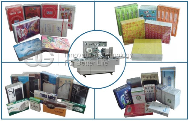 Cigarettes Box Cellophane Wrapping Equipment