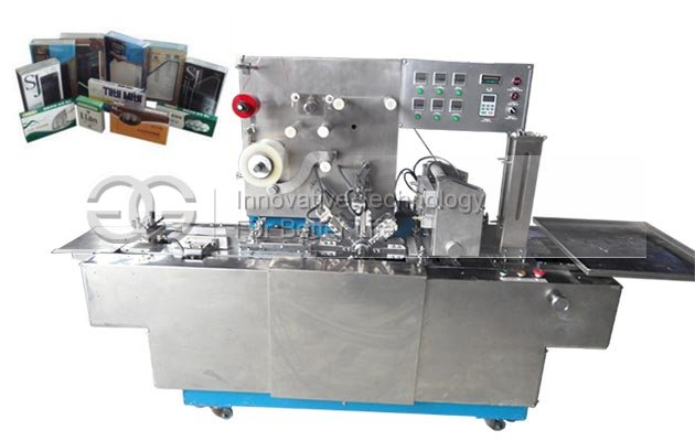 Cards Cellophane Wrapping Machine