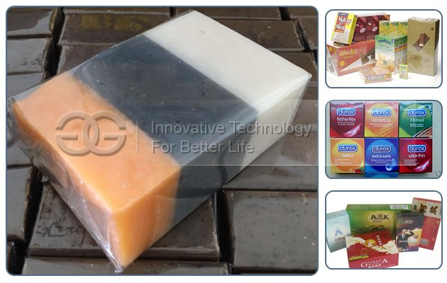 Transparent Film Soap Packing Machine