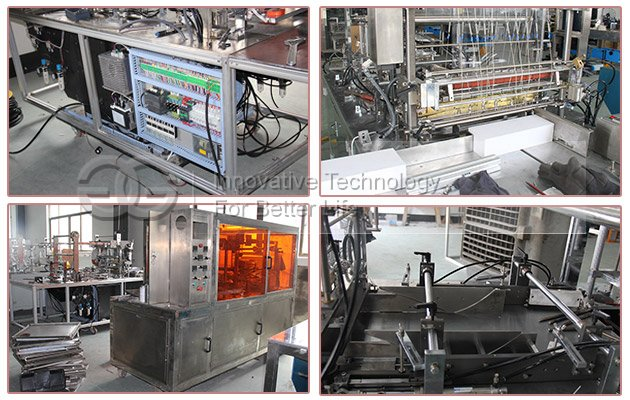 Automatic Large Box Cellophane Wrapping Machine