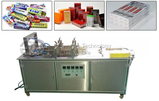 Manual Chewing Gum Cellophane Overwrapping Machine