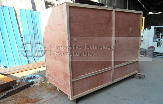 Wooden Package of Automatic Cellophane Wrapping Machine