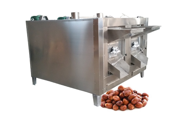 Rotary Peanut Almond Sesame Roaster Machine Manufacturer in China