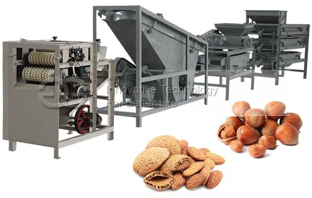 Automatic Almond Processing Equipment
