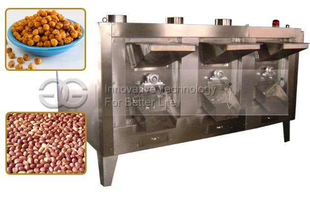 Drum Cocoa Beans Roaster Machine