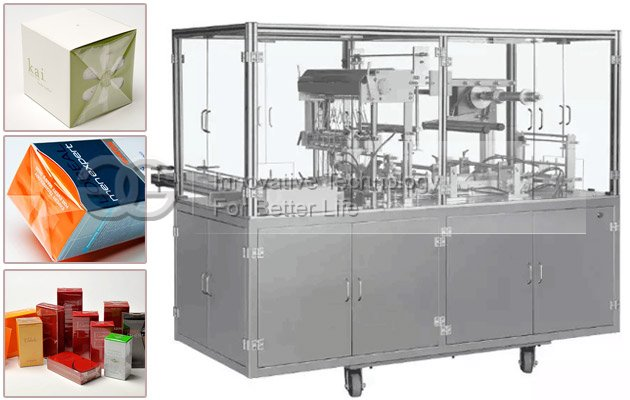 Cube Sugar Box Cellophane Wrapping Machine
