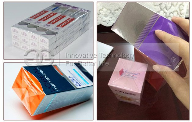 BOPP Cellophane Wrapping Machine Wrap Box