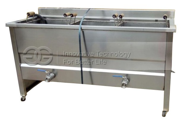 Three Basket Snack Frying Machine