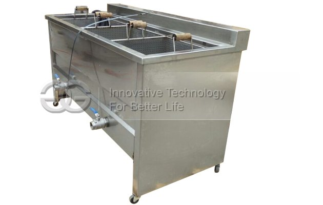 Three Baskets Snack Frying Machine