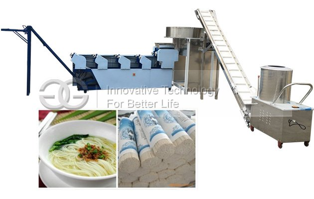 Small Scale Dry Noodles Making Machine
