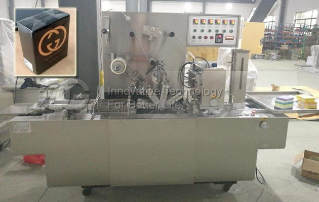 Cellophane Box Packing Machine Sold to America