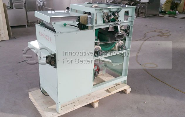 Almond Wet Peeling Machine to India