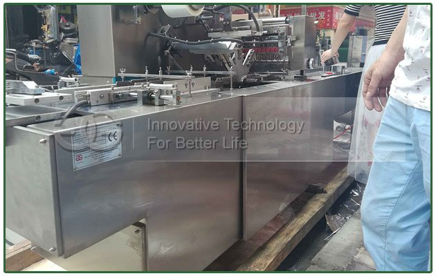 Business Cards Cellophane Wrapping Machine to USA