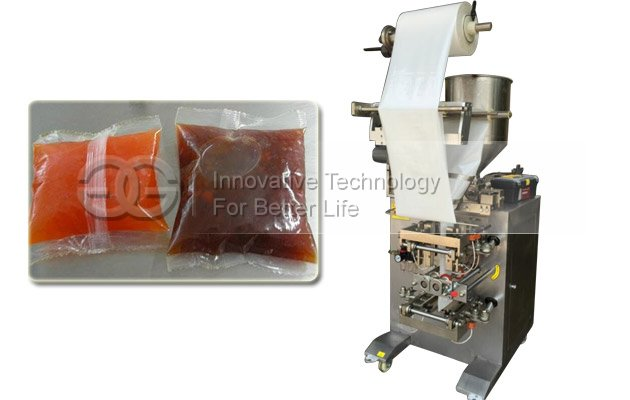 Back Side Chilli Sauce Packing Machine