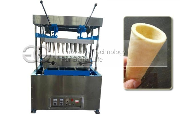 Commercial 40 Mould Pizza Cone Making Machine for Sale