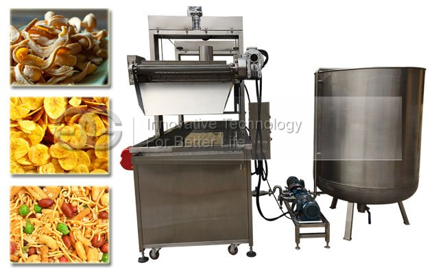 Automatic Pork Crackling Fryer Machine