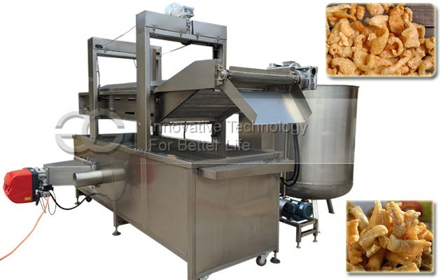 Automatic Pork Crackling Frying Machine|Peanut Fryer Machine