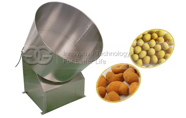 Commercial Cashew Nuts Coating Machine