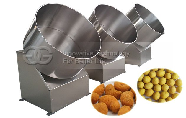 Commercial Cashew Nuts Peanut Coating Machine