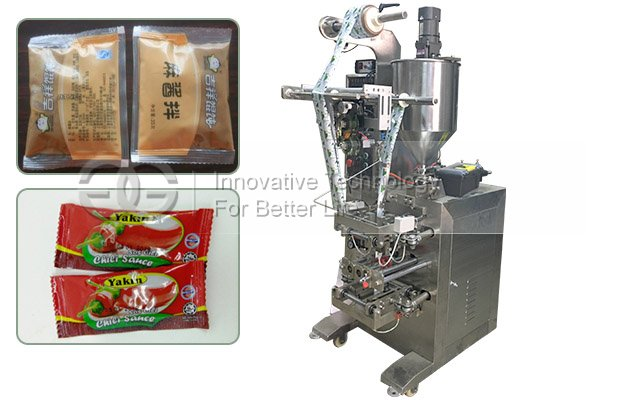 Condiments Sauce Packaging Machine|Liquid Ointment Packing Machine
