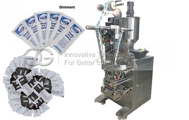 Automatic Liquid Ointment Paste Filling Packing Machine