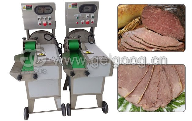 Commercial Cooked Meat Slicer Machine