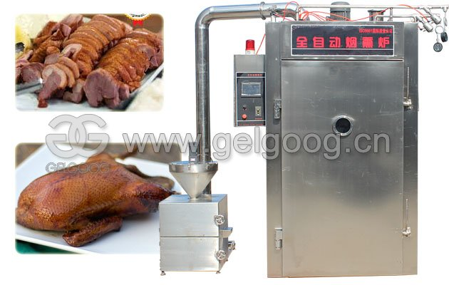 Duck Smoking Oven