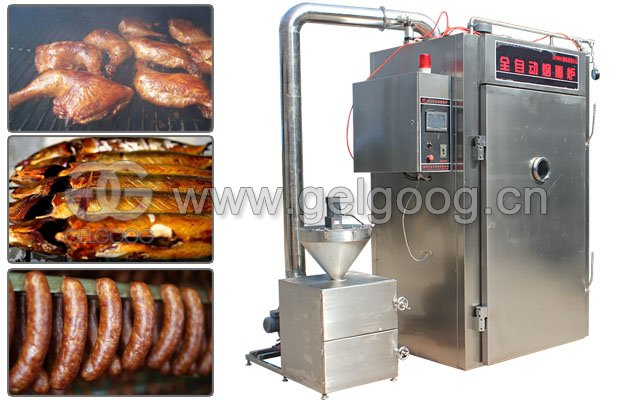 Fish Meat Smoking Machine