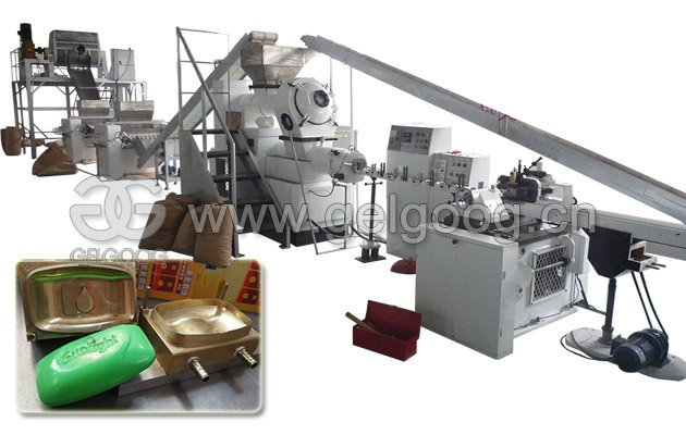 Small Scale Soap Bar Making Machine for Sale