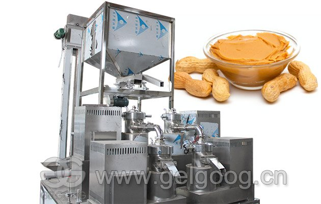 Full Industrial Peanut Butter Processing Equipment Line for Sale