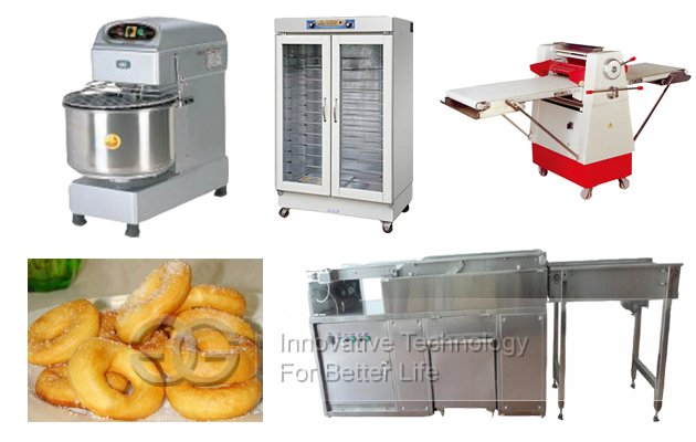 <b>Automatic Donut Production Line</b>
