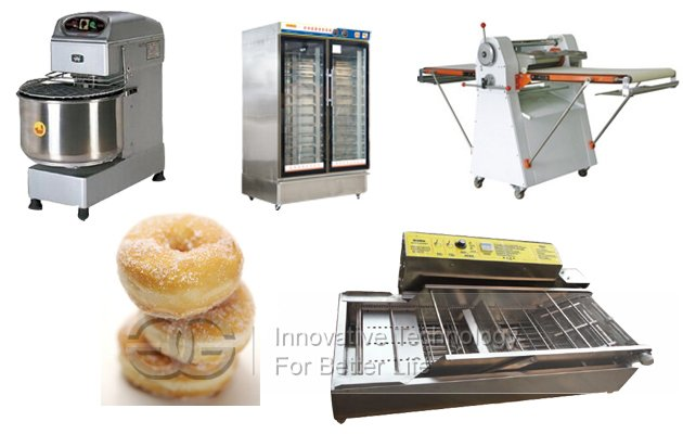 4F Donut Making Line