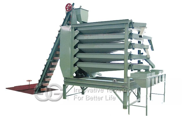 Peanut Sorting and Grading Machine
