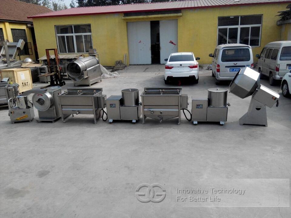 Semi-automatic Potato Chips Processing line