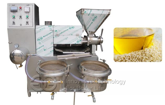 Automatic Sesame Oil Extraction Machine|Sesame Oil Pressing Machine