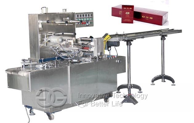 <b>Automatic Cigarette Case Cellophane Packing Machine</b>