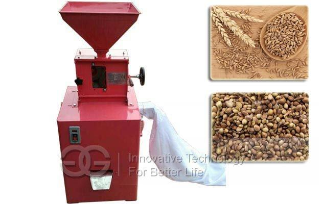 Homemade Einkorn Spelt Wheat Dehuller Machine