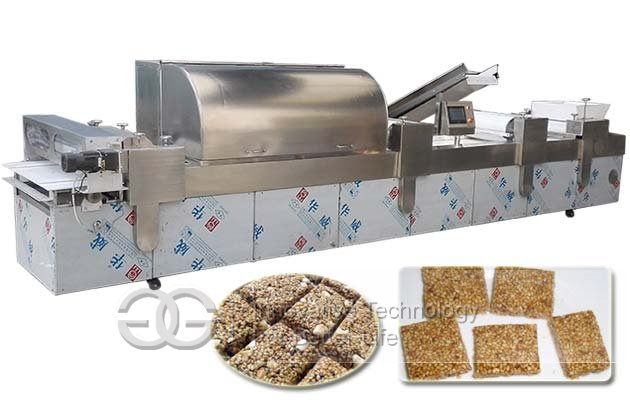Commercial Automatic Peanut Brittle Making Machine With Air Condition CE Approved