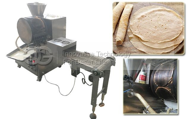 Automatic Crepe Making Machine|Injera Maker Machine for Sale