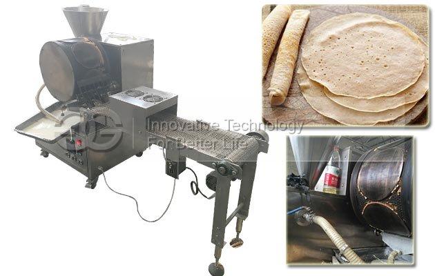 Automatic Crepe Making Machine Injera Maker Machine for Sale