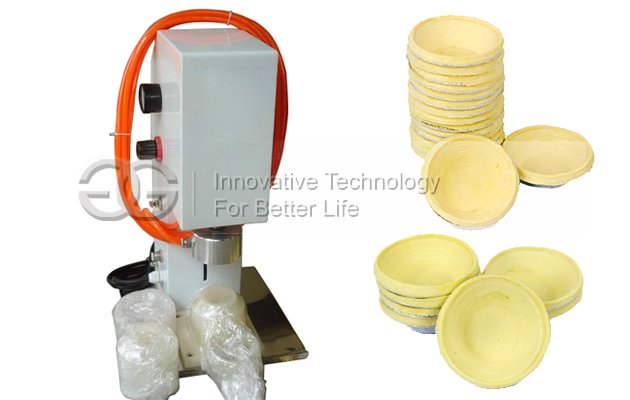 Easy Operation Egg Tart Skin Forming Press Machine