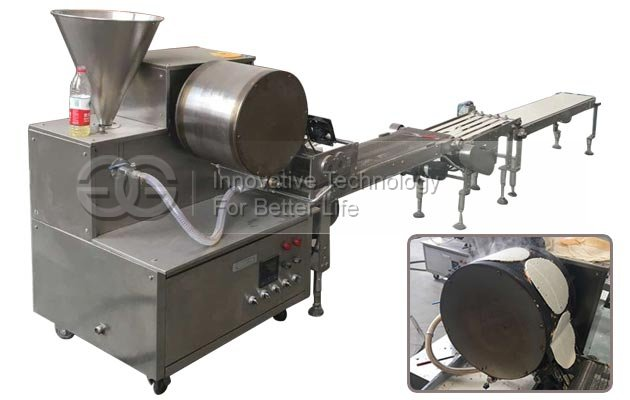 Automatic Crepe Making Machine Spring Roll Wrapper Making Machine For Sale