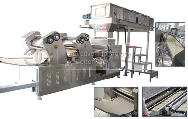 <b>Fully Automatic Fried Instant Noodle Production Line</b>